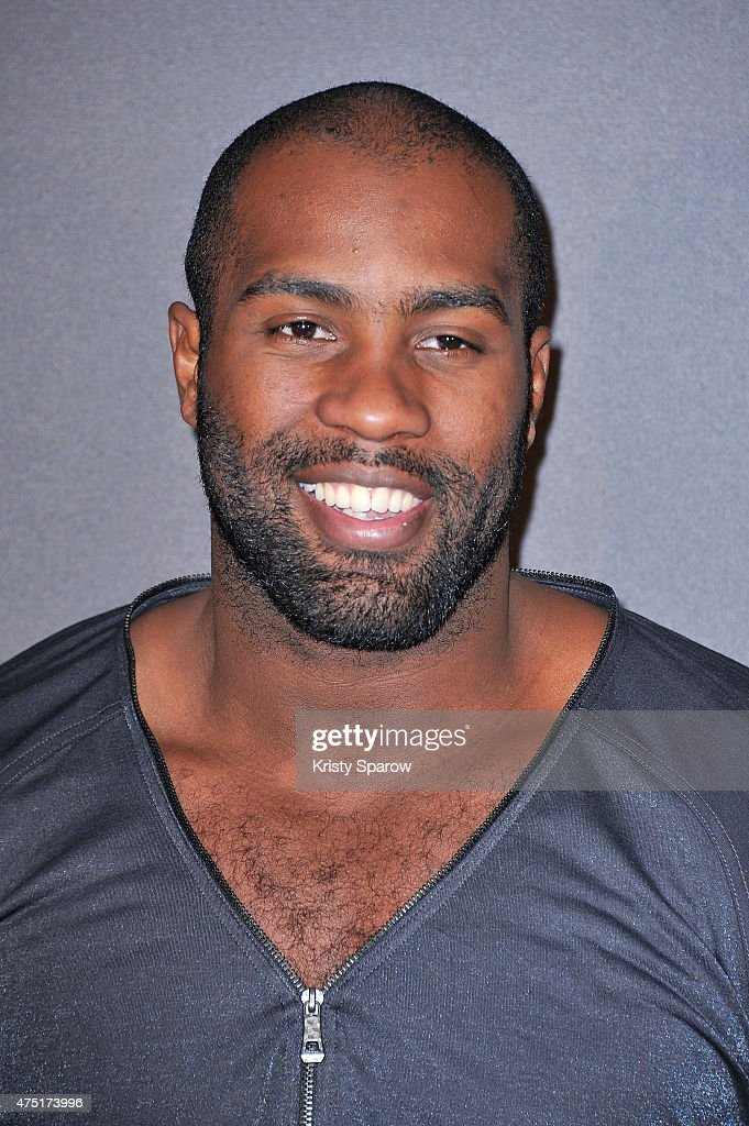 <a gi-track='captionPersonalityLinkClicked' href=/galleries/search?phrase=Teddy+Riner&family=editorial&specificpeople=4114927 ng-click='$event.stopPropagation()'>Teddy Riner</a> attends the 'Jurassic World' Photocall at UGC Normandie on May 29, 2015 in Paris, France.