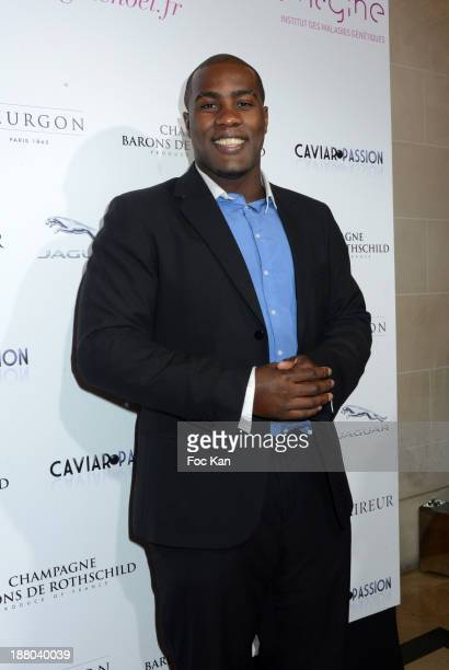 Teddy Riner attends the 'Winter Time 2013' Cocktail at L'Eclaireur Cafe on November 14 2013 in Paris France