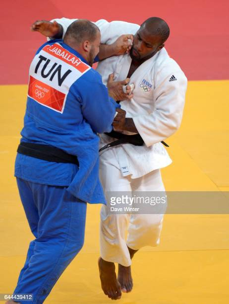 Teddy RINER / Faicel JABALLAH Judo 100kg Hommes Jeux Olympiques Londres 2012 Photo Dave Winter / Icon Sport