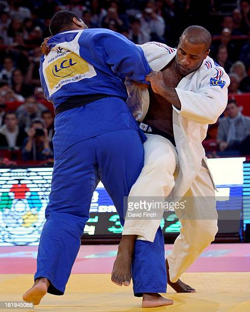 Teddy Riner of France defeated Oscar Brayson of Cuba to reach the final and ultimately his sixth consecutive heavyweight gold medal during the Paris...