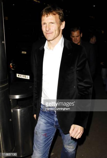 Teddy Sheringham during Amika Club Launch Party at Amika High St Kensington in London United Kingdom