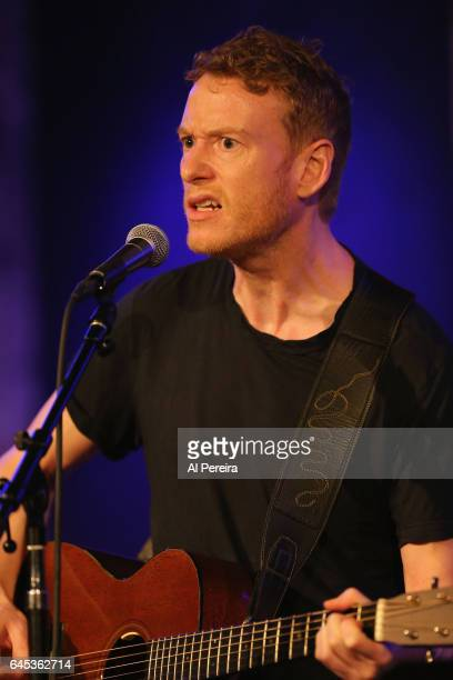Teddy Thompson performs as part of Wesley Stace's Cabinet of Wonders at City Winery on February 24 2017 in New York City