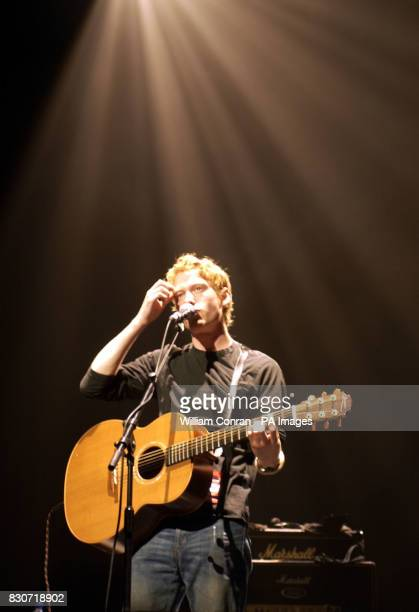 Teddy Thompson performs on stage at the Royal Festival Hall London during The Songs The Thing Festival A Celebration of Tim Buckley