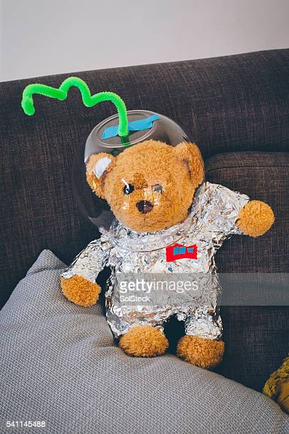 Teddybear ready for Outer Space