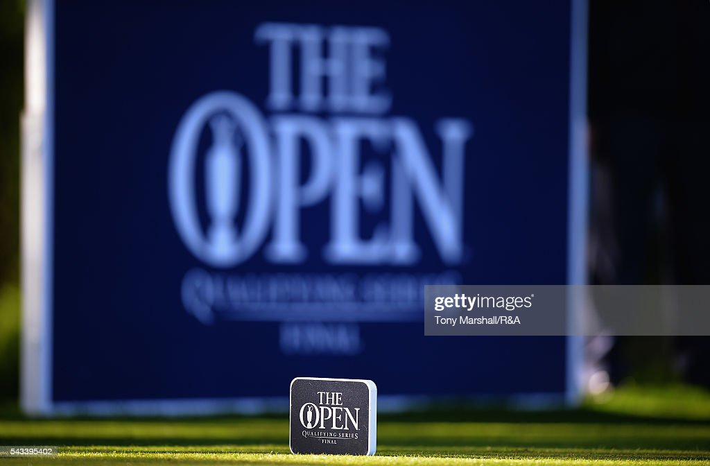 Tee markers on the 10th tee during the Open Championship Qualifying - Woburn at Woburn Golf Club on June 28, 2016 in Woburn, England.