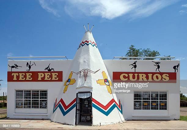 Tee Pee Curios Shop Route 66 in Tucumcari New Mexico