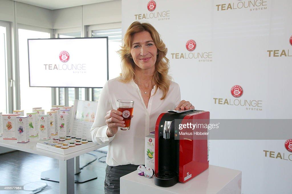 Teekanne & Brand Ambassador Steffi Graf Present New Product In Hamburg