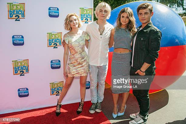 BEACH 2 Teen Beach 2 Premiere Event Ross lynch Maia Mitchell R5 and the stars of the Disney Channel Original Movie 'Teen Beach 2' kickoff the movie's...