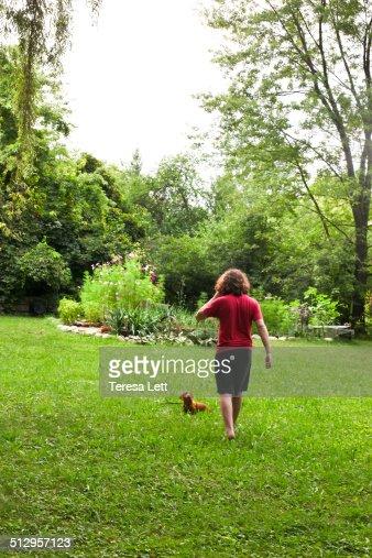 lawn man shoot teen walking