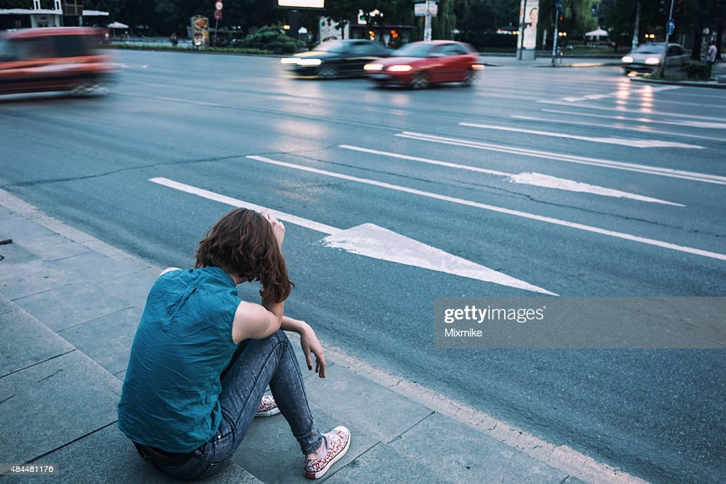 Teen Depression Stock Photo | Getty Images