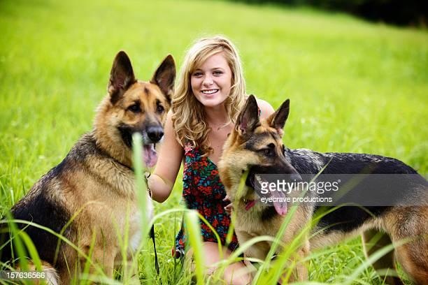 teen female vivid outdoors summer day