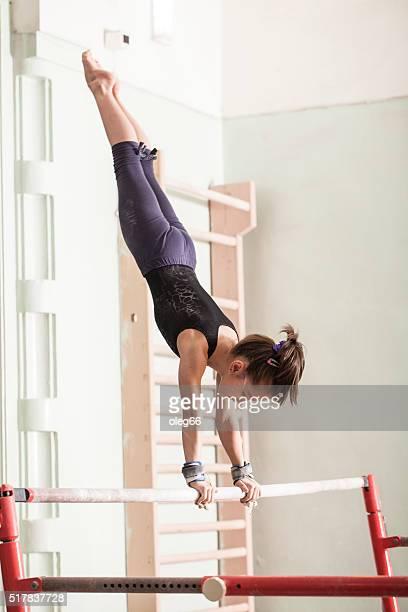 teen Mädchen in einer sports hall