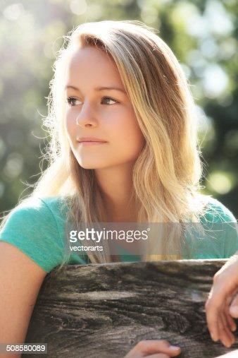 teen girl : Stock Photo