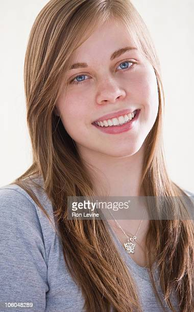Teen girl, portrait