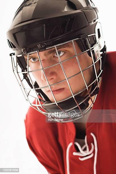 stock photography sports hockey teen
