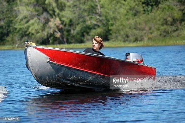 Teen on the lake