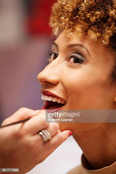 Teen Vogue editor Elaine Welteroth is photographed for Vensette on February 16 2015 in New York City