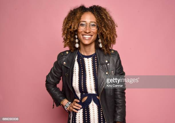 Teen Vogue editor in chief Elaine Welteroth attends Beautycon Festival NYC 2017 Portraits at Brooklyn Cruise Terminal on May 20 2017 in New York City