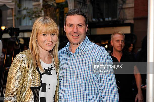 Teen Vogue EditorInChief Amy Astley and ASOS CEO Nick Robertson appear at the Teen Vogue celebration of Fashion's Night Out at West Village Bleecker...