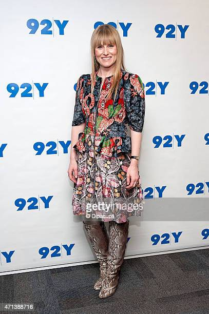 Teen Vogue editorinchief Amy Astley attends 92nd Street Y Presents In Conversation With Misty Copeland and Amy Astley at 92nd Street Y on April 27...