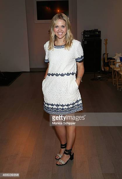 Teen Vogue Fashion Assistant Katie Sapp attends the Isabella Rose Taylor By Dell fashion show during STYLE360 Fashion Week Spring 2015 at...