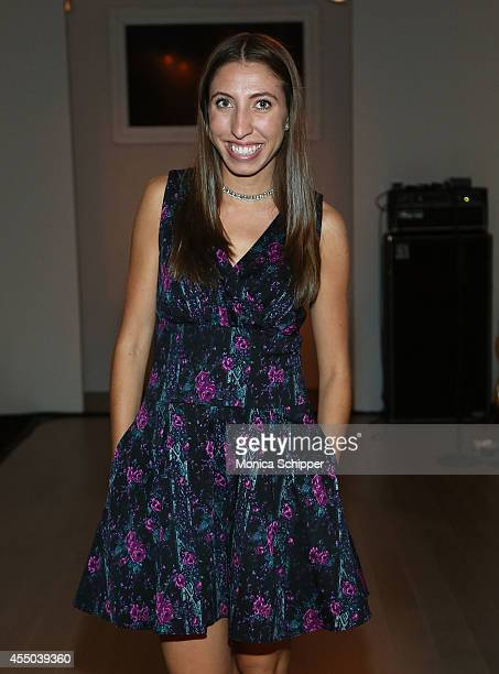 Teen Vogue Fashion Director Caroline Vazzana attends the Isabella Rose Taylor By Dell fashion show during STYLE360 Fashion Week Spring 2015 at...