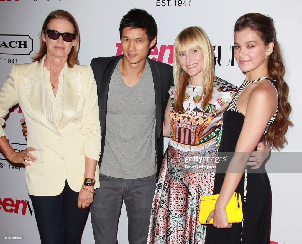 Teen Vogue Senior West Coast Editor Lisa Love, actor Harry Shum Jr., Teen Vogue Editor-in-Chief Amy Astley and actress Hailee Steinfeld attend the 9th annual Teen Vogue's Young Hollywood party at Paramount Studios on September 23, 2011 in Los Angeles, California.