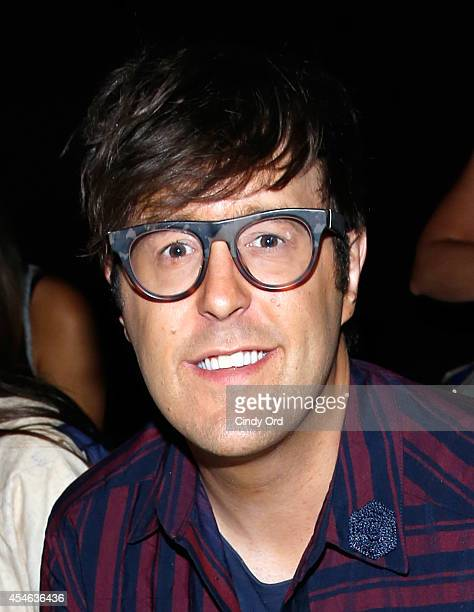 Teen Vogue style and features director Andrew Bevan attends the Tome fashion show during MercedesBenz Fashion Week Spring 2015 at The Pavilion at...