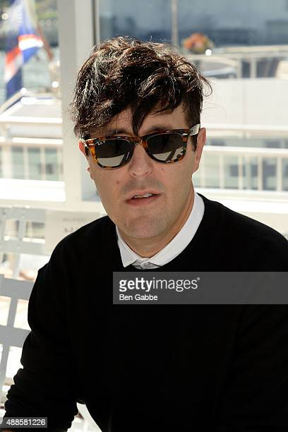Teen Vogue style director Andrew Bevan attends the Delpozo Fashion Show during Spring 2016 New York Fashion Week at Pier 59 on September 16 2015 in...