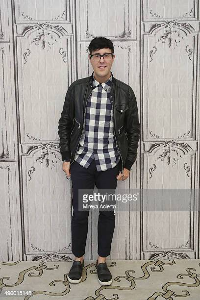 Teen Vogue style features director Andrew Bevan at AOL Studios In New York on November 6 2015 in New York City