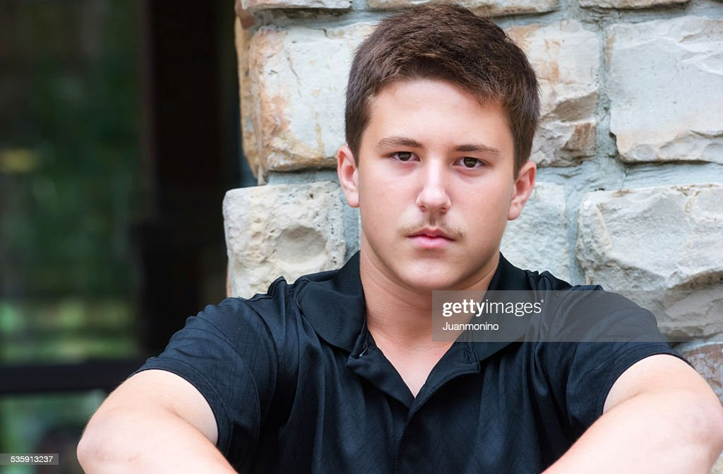 Adolescente boy : Foto de stock