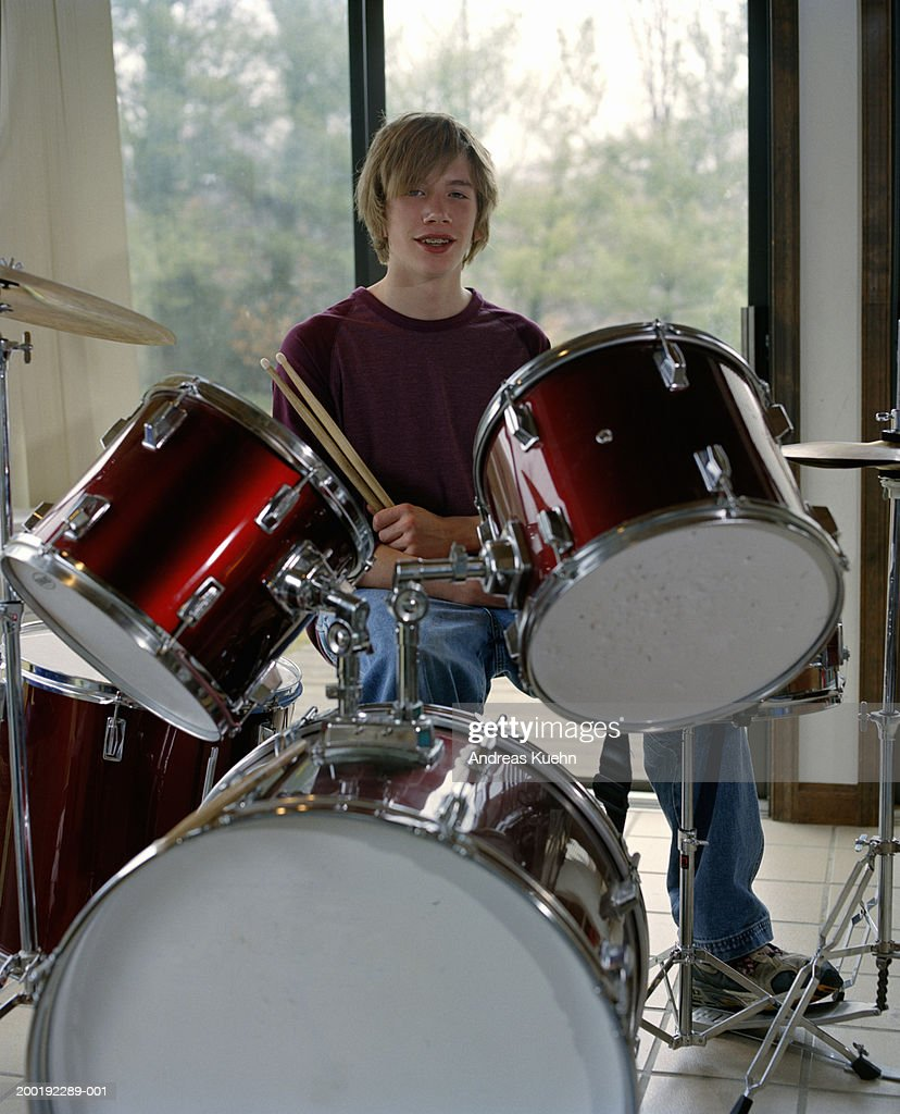 teen drum set for