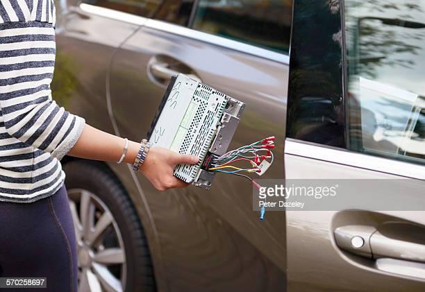 Teenage car crime