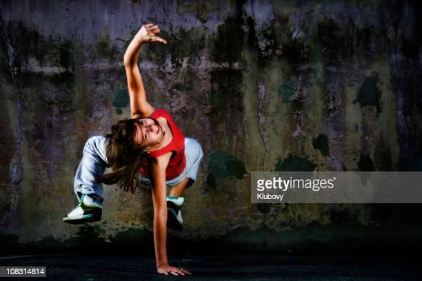 Teenage dancer
