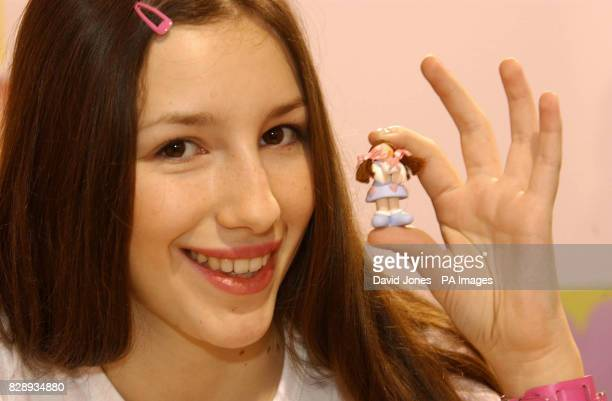 Teenage entrepreneur Luisa Bundy from Basingstoke launches her own range of Little Bundies at the Spring fair at Birmingham's NEC The dolls began as...
