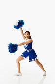 Teenage Girl Cheerleader