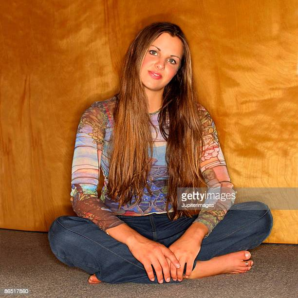 Teenage Girls Barefoot Stock Photos And Pictures Getty