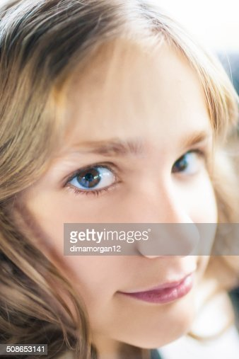 Teenage Girl portrait : Stock Photo