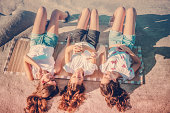 Summer holidays / Teenage concept