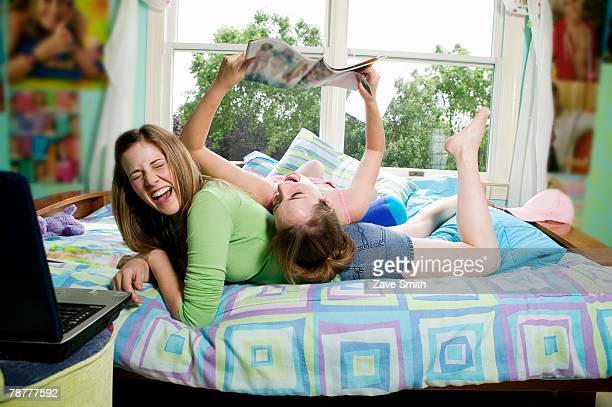Teenage Girls Hanging Out