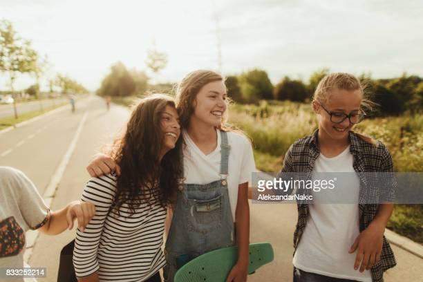 Teenage girls!