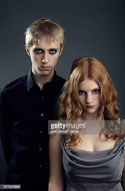 Adolescente gótico Vampires