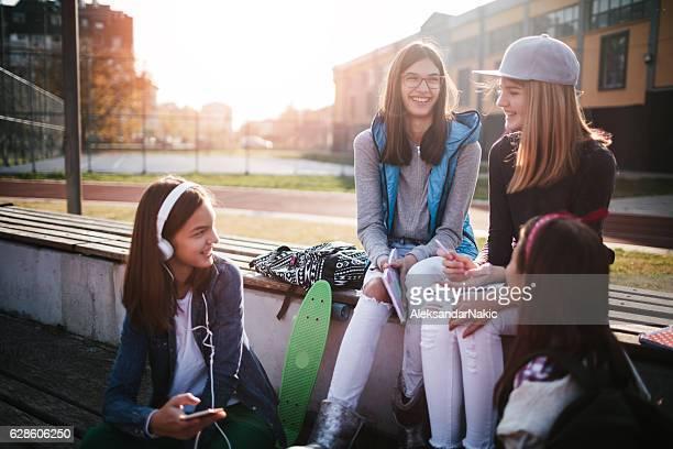 Adolescente la vie