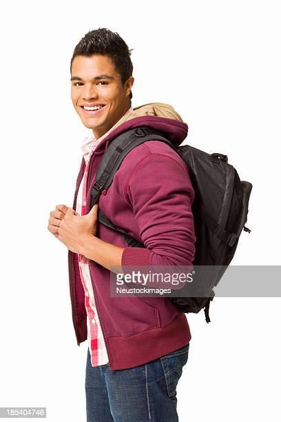 Junge männliche Student