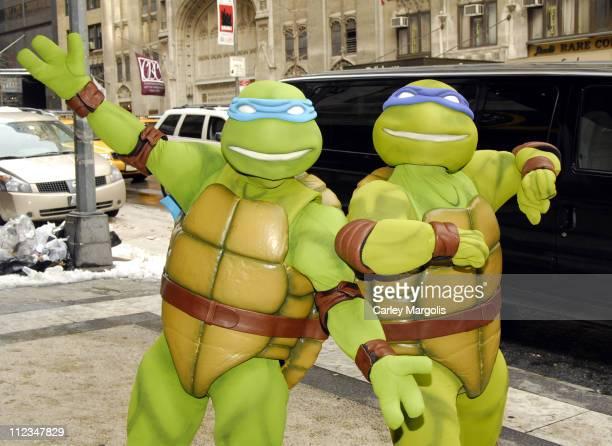 Teenage Mutant Ninja Turtles during New York International Children's Film Festival 2007 'TMNT' Screening in New York City New York United States