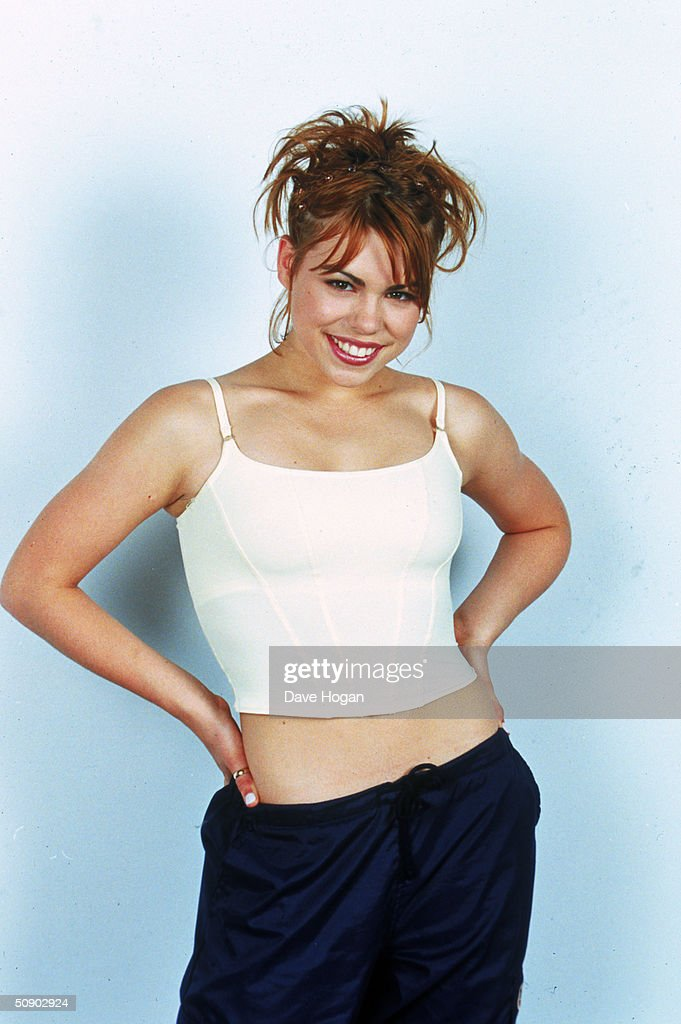 Teenage pop star Billie Piper, circa 1998.