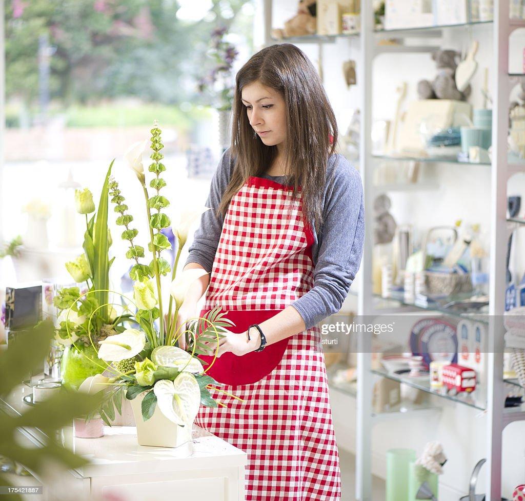 teenage shop assistant   Stock Photo. Teenage Shop Assistant Stock Photo   Getty Images