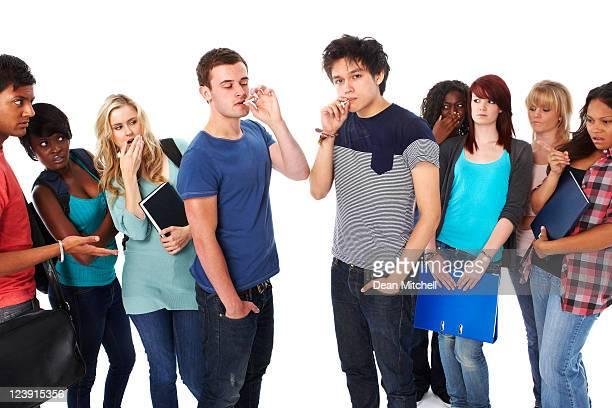 Teenage Smokers - Isolated