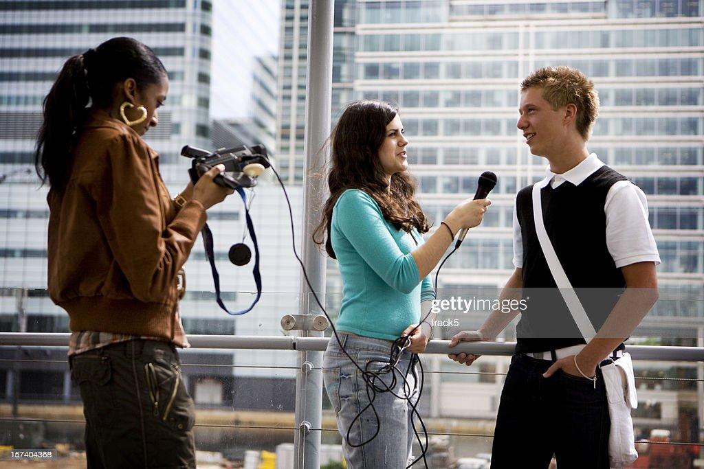 teenage students: media experience
