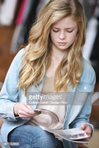 Blu Blonde Teen In 49